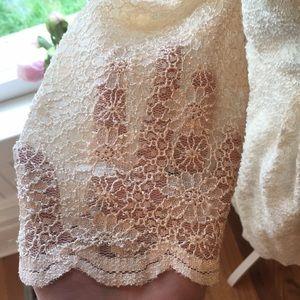 Alex Evenings Dresses - Gorgeous Ivory Lace Wedding/ Cocktail Dress